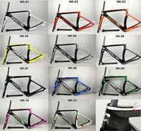 Wholesale 2017 New Model Cipollini NK1K Carbon Road Bike Frame glossy matte K K frameset Racing Bicycle Frame