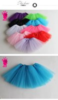 Wholesale Children s clothing sales girls skirts child skirt tutu skirt Europe and the United States children s ballet veil