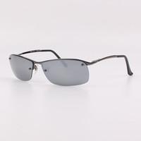 Wholesale 3183 Summer brand sunglasses Outdoor Polarizing sunglasses Resin Lenses silver mirror mm Sunglasses with free Original box