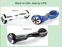 36V self balancing scooter - USA STOCK ship by UPS Inches Wheels Smart Hoverboard Electric Skateboard Unicycle Self Balancing Scooter with retail box