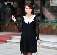 Wholesale Lace maternity clothes Summer Party Maternity Dresses Long Sleeve pregnant dress maternity clothing For Pregnant Women