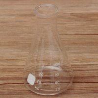 Wholesale Transparent Conical Flask Glass Scientific Glass Erlenmeyer Flask ml Laboratory School Teaching Supply Durable Lab Glassware