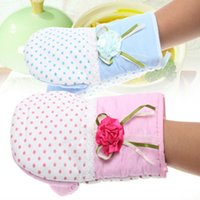 acrylic oven - Microwave Oven Gloves Heat Insulation Gloves Kitchen gloves Scald proof gloves
