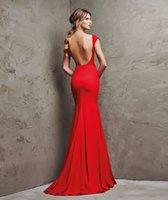Vestidos de noche formales largos elegantes rojos atractivos del satén de Karin de la tolerancia Vestidos de noche formales largos elegantes rojos del satén de Karin 2011