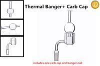 ball p - A Set of XXL mm Outer Diameter Quartz Thermal P Banger and Ball Styled Quartz Carb Cap for glass bongs
