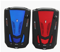 Wholesale 360 Degree Car Speed Radar Detector v7 Voice Alert Detection Shaped Safety for Car GPS Laser LED with English and Russian Language