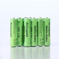 Wholesale 8 V rechargeable AAA Alkaline battery V rechargeable AAA Alkaline batteries free delivery
