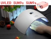 Wholesale 2017 UVLED SUN9c SUN9s W Professional UV LED Lamp Nail Dryer Polish Machine for Curing Nail Gel Art Tool