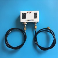 air hose switch - Mechanical autoreset dual pressure controls with meter length high pressure hose for start or stop air compressor unit