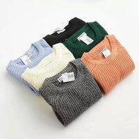 anne k fashion - Anne new fashion Casual women long sleeve solid elasticity damen pullover jumper pull femme sweater Apparel K