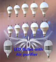 air purifier bulb - LED Bulbs with Air Purifier and Anions to Clearn the Air W W W W W LED Anions Light