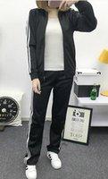 Wholesale M XL brand suit men women sport tracksuit casual outfit sport suit fashion brand jacket and pants