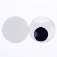 big googly eyes - With Self adhesive Big Size CM Round Design Plastic Movable Doll Eyes Googly Eyes For Toy DIY Doll Accessories