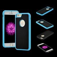 anti novel - Novel Anti gravity Phone Case For iPhone Plus s Plus s SE Magical Anti gravity Nano Suction Cover Adsorbed Car Antigravity Cases