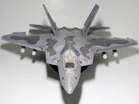 al por mayor papeles finos al por mayor-Venta al por mayor F22 Raptor Invisible Fighter edición Super Super gran papel 3D modelo DIY Origami juguete