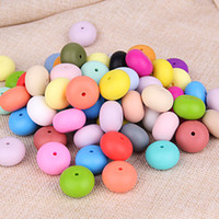 abacus necklace - Large Abacus Beads Food Grade Silicone Round Loose Beads mm DIY Teething Necklace Nursing Jewelry Beads for Baby Teether Toy