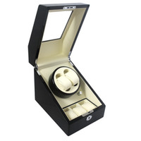 Wholesale Top Quality Automatic Wood Watch Winder Box Case Locks