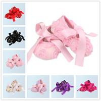 ballerina sneaker - Baby Girls Rose Shoes First Walker Newborn Girl Shoes Infant Toddler Shoes Retro Fringe Sneakers Photo props Ballerina Slippers K056