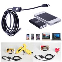 Wholesale 5 mm Wifi Wireless Endoscope with m Cable Borescope Waterproof Inspection Snake Camera for IOS Android Windows PC