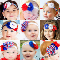 baby embellishment - 100pcs Cute th of July Red White and Blue Rhinestone Embellishment Baby Infant Newborn