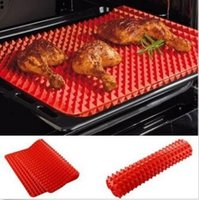 Wholesale 39 cm Silicone Pyramid Pan Baking Pastry Tools For Microwave Oven Tray Pan Sheet Creation Kitchen Dishwasher Mats CCA5790