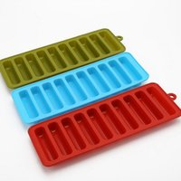 Wholesale Kitchen Accessories Lady Fingers Cookie Cutters Suplies Candy Chocolate Silicone Moulds Baking Tools Cake Supplies