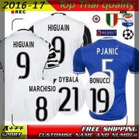 active thailand - Best Thailand quality Juve DYBALA maglie HIGUAIN morata CHIELLINI bonucci Marchisio shirt