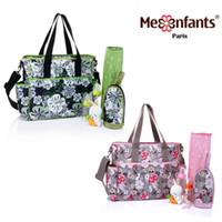 Wholesale New fashion Mes Enfants diaper bag waterproof nappy bag outdoor stroller travel Tote Shoulder mommy bag