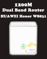 ac gigabit router - HUAWEI honor WS831 Dual band Gigabit home wireless router WiFi wall Wang AC dual band high speed broadband intelligent optical fiber