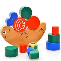 baby frame parent - Baby Children Wooden Early Learning Parent child Snail Balance Balancing Frame Educational Toys JM1501
