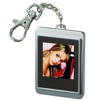 achat en gros de photo porte-clés numériques-1,5 pouces LCD mini numérique photo porte-clés anniversaire présent cadre afficheur avec DHL livraison gratuite mémoire intégrée pour stocker jusqu'à 150 images ca