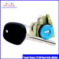 auto door lock cylinder - Auto Door Lock Cylinder for Toyota Camry left door lock cylinder car Locksmith Practice Supplies Set Lock Picks Tools