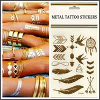 ankle chain tattoos - ody art chain gold tattoo temporary tattoo tatoo flash tattoo metallic tattoo jewelry temporary tattoost stickers sexy tattoos new