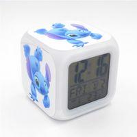 Wholesale New Led Alarm Clock Stitch Creative Desk Table Electronic Clock Digital Alarm Clock for Kids Toy Gift