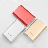 Wholesale Xiaomi Power Bank mAh Large Capacity External Battery Pack Portable Safe Mi Power Bank Powerbank for iphone7 samsung s5 s6