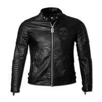Wholesale Hot Sale Fashion Men s Leather Jacket Men s Casual quality brand motorcycle leather jackets men coat