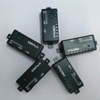 Wholesale 10M M Megabit Simple Passive PoE injector Splitter for CCTV IP camera Networking Power over Ethernet