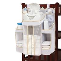 baby diaper stacker - Baby Diaper Holder Organizer Caddy Wipes Storage Shelf Infant Changing Clean Pocket Nursery Stacker Dex