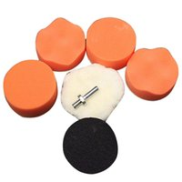 Wholesale High Gross Polishing Buffing Pad Kit Car Polishing Buffer Drill Adapter