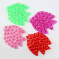 Wholesale New Fashion Strong Double Sided Suction Palm PVC Suction Cup Double Magic Plastic Sucker Bathroom