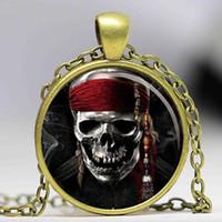 artwork of animals - Pirates of the Caribbean Pendant Artwork Jewerly Jack Sparrow Mermaids cinema pendant necklace