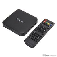 android internet tv box - TX3 Pro A905X K Android Box Streaming Media Player G G Kodi XBMC Preinstalled Android Marshmallow OS Internet TV Decoder Box