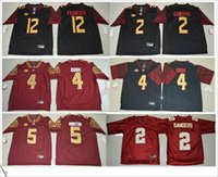 american cooking - Florida State Seminoles Deion Sanders Dalvin Cook Jameis Winston Francois Stitched Mens American College Football Sports Jerseys