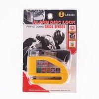Wholesale Iztoss Motorcycle security Disc Lock Anti Thief throttle Alarm