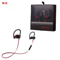 Wholesale BT S Professional Sports bluetooth headphones Wireless Ear Hook Type Stereo Headset With Volume Control Microphone