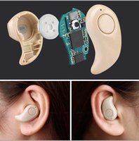 Wholesale Newest Small Earbud Headset with Microphone Bluetooth Ster Mini Invisible Support Hands free Calling For Smartphones