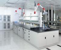 Wholesale laboratory furniture steel island bench dental lab bench mm