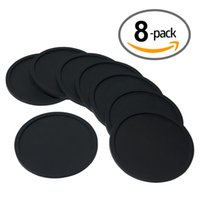 absorbing coasters - Amazing Quality Drink Coaster Sleek Modern Design Prevents Furniture Damage Absorbs Spills and Condensation Set of Packs