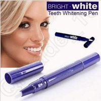 Cheap Professional Teeth Whitening Pen Dental Gel Use Home Slim White Teeth Powerful Effect Pen Whitener Bleaching Kit CCA5363 300pcs
