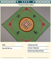 Wholesale YUMU High Quality Mahjong Mat Household Mahjong Table Cloth cm